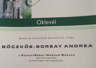 Doctor Babor Medical Beauty - 2015 június